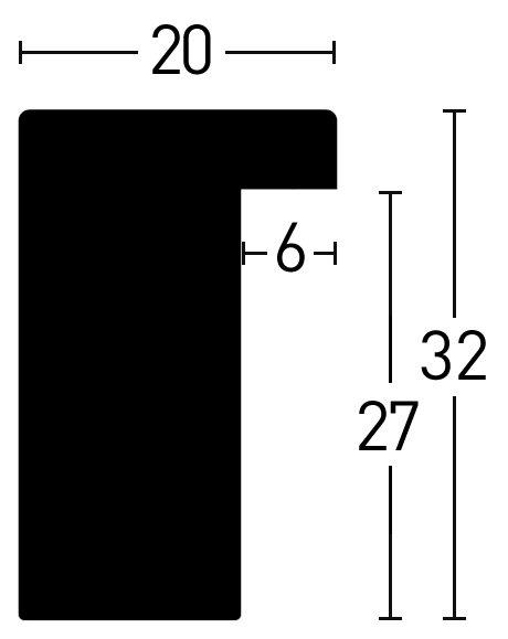 Nielsen Holz Blackwoods 20x32