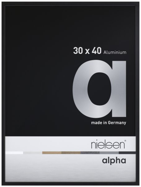 Nielsen alpha Alu-Trauerrahmen