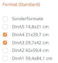 Bilderrahmen-Finder-Hilfe-Format
