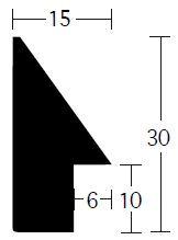 Nielsen Holz Slim 15x30