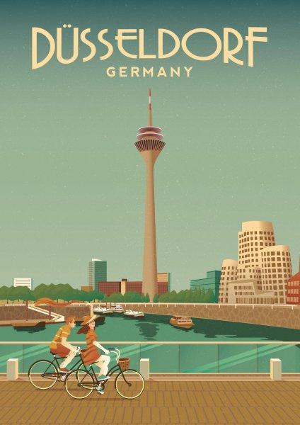 Mr. Düsseldorf präsentiert 'Das schönste Poster von Düsseldorf'