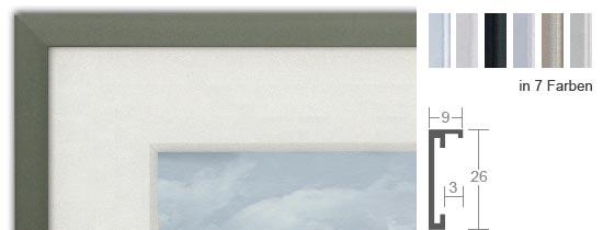 halbe magnetrahmen aus aluminium bilderrahmenwerk. Black Bedroom Furniture Sets. Home Design Ideas