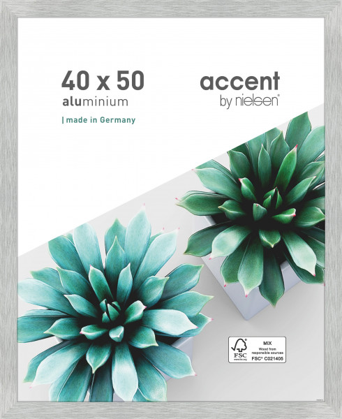 Nielsen Star Alu-Bilderrahmen 50x70cm