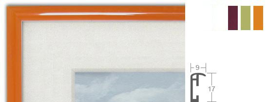 Hama Madrid Pastell Kunststoff-Bilderrahmen
