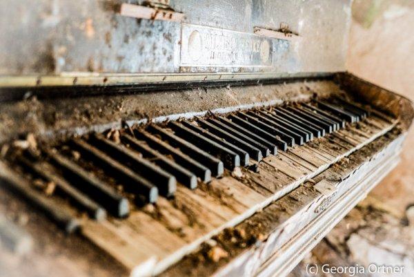 """""""Chopin's last nocturne"""" - Acrylkaschierung"""