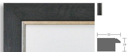 Trauerrahmen Berlin Holz Profil 1820