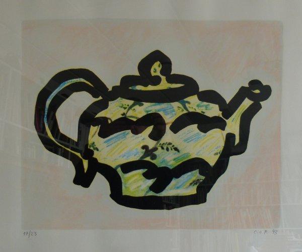 Teekanne von C. O. Paeffgen