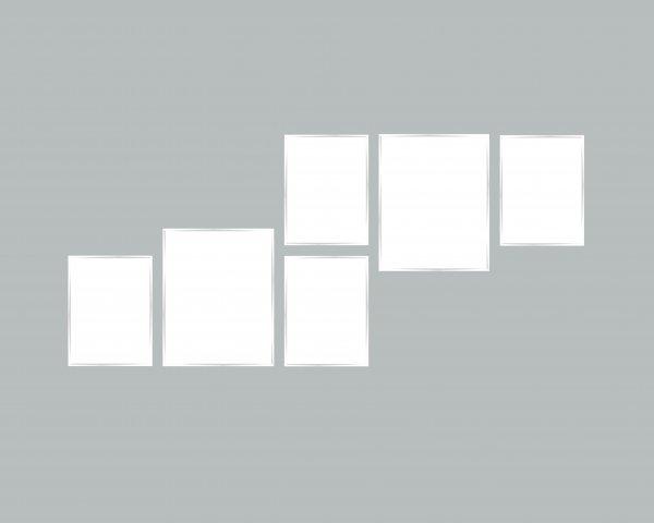6er Bilderrahmen Set - Nielsen C2