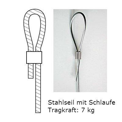Stahlseil mit Schlaufe Z23 - 10er Set