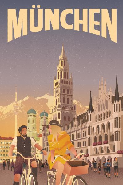 """Geheimtipp München präsentiert """"Das schönste Poster von München"""""""