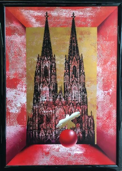 Henry Haselwanger - Dom schwarz rot - Original