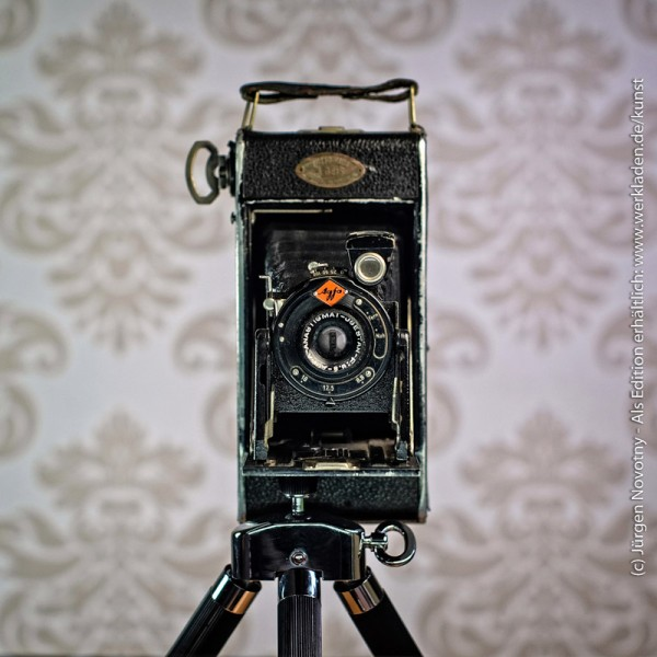 Cameraselfie Agfa Billy
