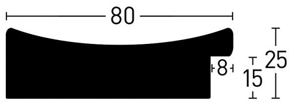 Nielsen Holz Ellipse 80