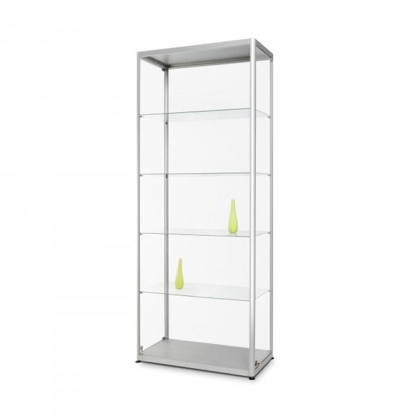 Glasvitrine-80x40x200 cm