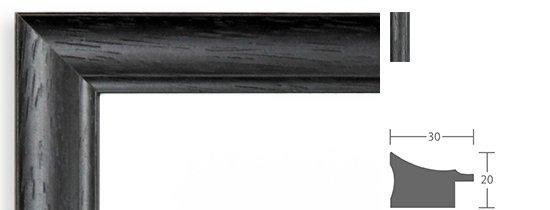 Trauerrahmen Berlin Holz Profil 5521