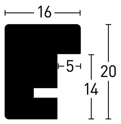 Nielsen Holz Quadrum 16x20
