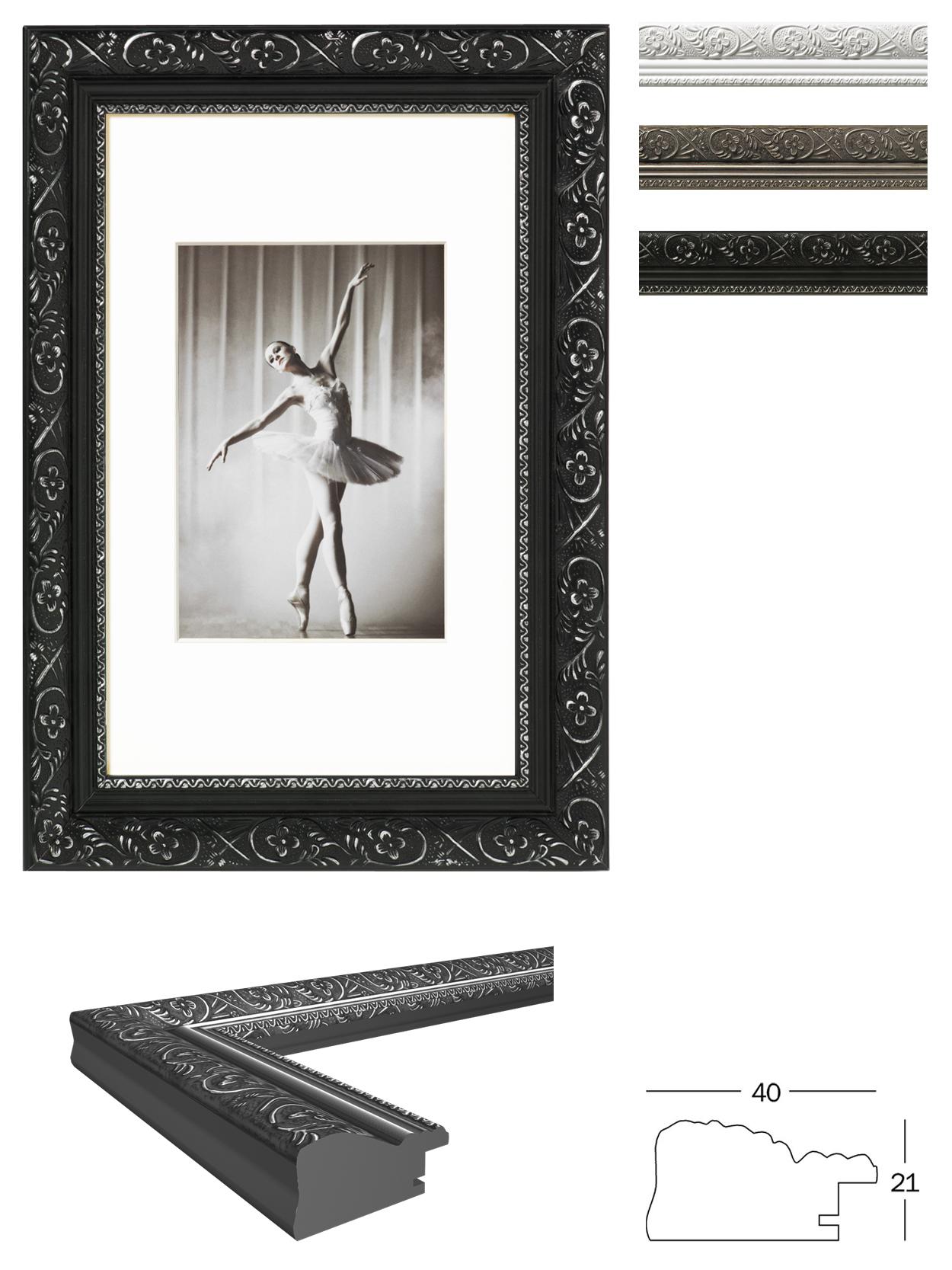 Holz-Bilderrahmen Barock von Walther | Bilderrahmenwerk
