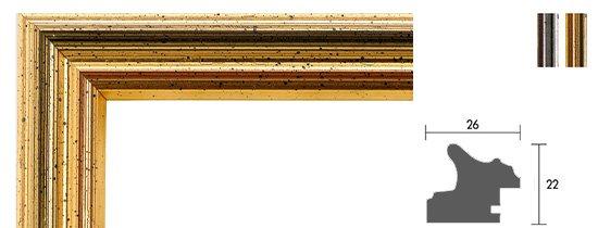 Köln Bilderrahmen Holzprofil 44
