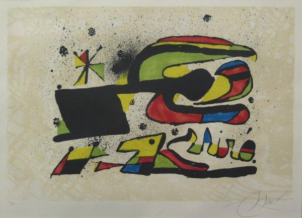 Joan Miró, Gos i Ocell