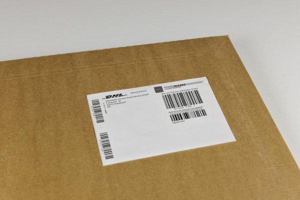 DHL-Versandmarke Paket