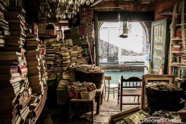 """Libreria Italiana"" - Acrylkaschierung"