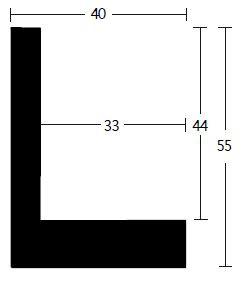 Nielsen Schattenfuge Holz Slim 40x55