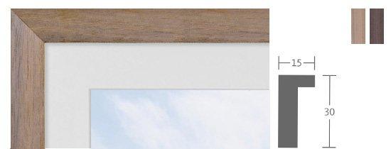 Berlin Bilderrahmen Holz Profil 1063