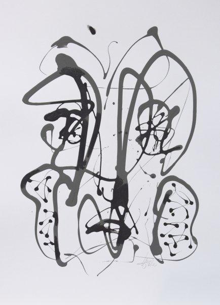 Arno Hinz, Abstrakt