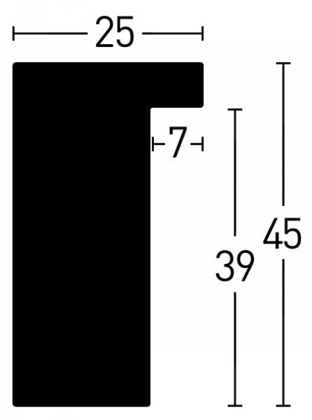 Nielsen Holz Loft 25 Holzrahmen