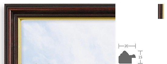 Berlin Bilderrahmen Holz Profil 3542