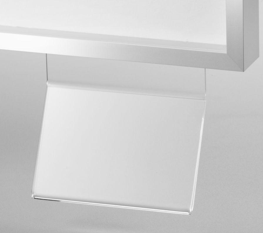halbe halter f r titelkarten rahmenzubeh r zubeh r. Black Bedroom Furniture Sets. Home Design Ideas