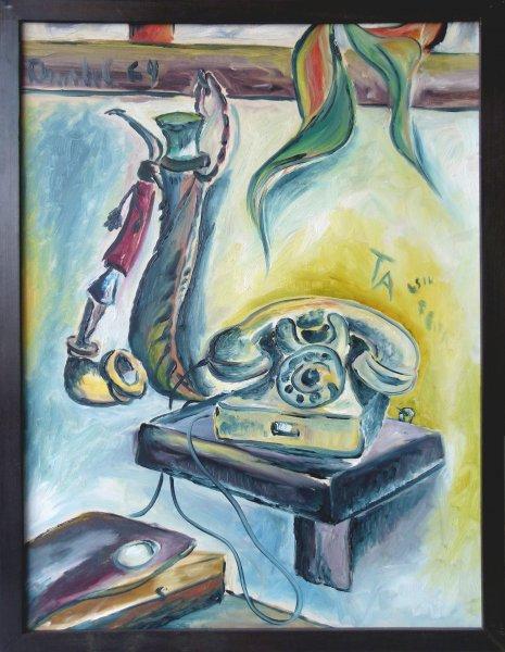 Anatol Herzfeld, Pfeife und Telefon