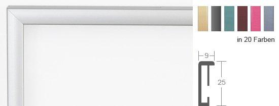 DEHA Profil 5 - Altsilber - 40x40 cm