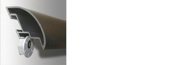 Patentaufhänger 2er-Set Roggenkamp Alurahmen