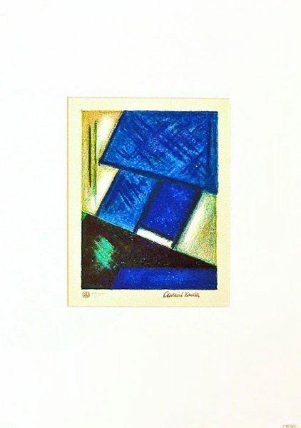 Grün/Blaue Abstraktion