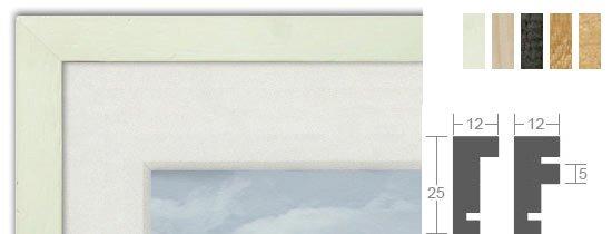 Bilderrahmenwerk WL Profil 109 Holz-Bilderrahmen