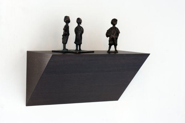 Präsentationssockel - Hängend - Dreieck