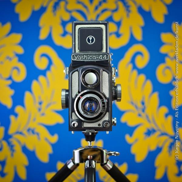 Cameraselfie Yashica 44
