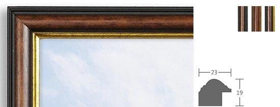 Berlin Bilderrahmen Holz Profil 3547