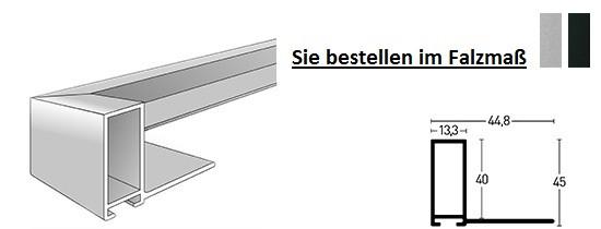 Nielsen Schattenfuge Alu Profil 227