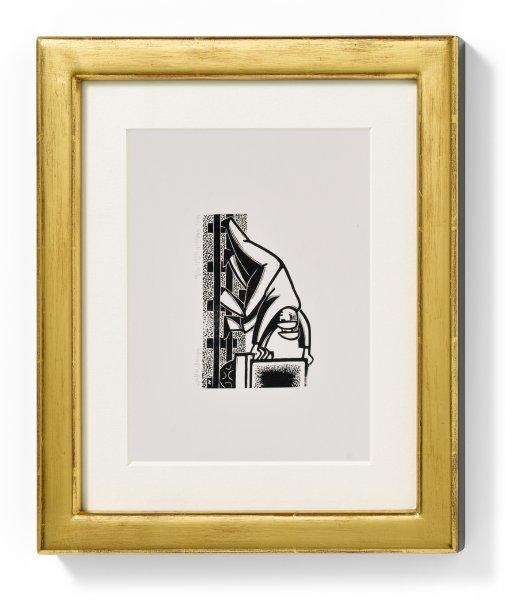 Conzen Galerieleiste II - gold/schwarz