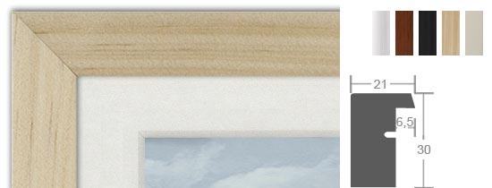 Günstige Bilderrahmen Aus Holz Holzrahmen Preiswert