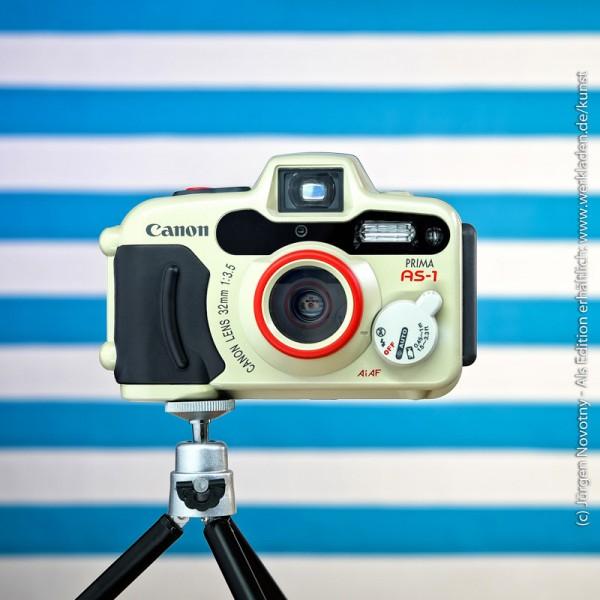 Cameraselfie Canon Prima AS-1 Unterwasserkamera