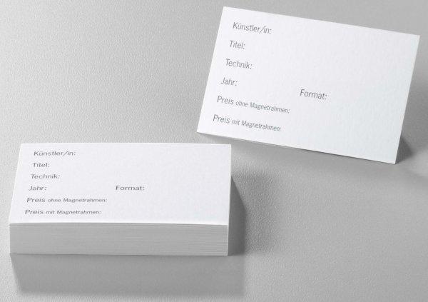 Titelkarten für Acryhalter von HALBE