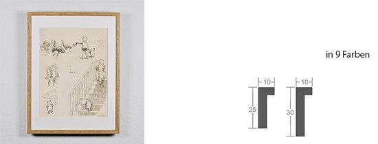 Werkladen-Rahmen Massivholz Eiche 10