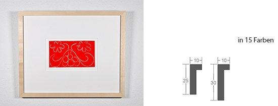 Werkladen-Rahmen Massivholz Ahorn 10