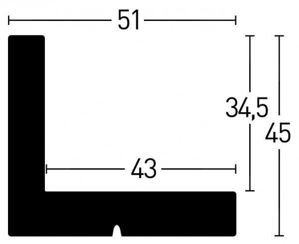 Nielsen Schattenfuge Holz Metropolitan Floater 51x45