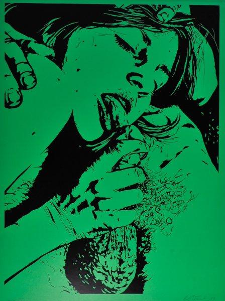 Robert Stanley, Erotic Portfolio (Grün)