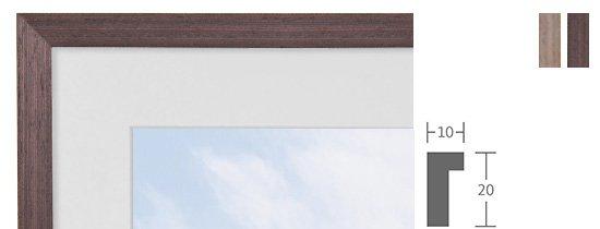 Berlin Bilderrahmen Holz Profil 1043