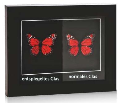 Besseres Glas für Ihren Rahmen